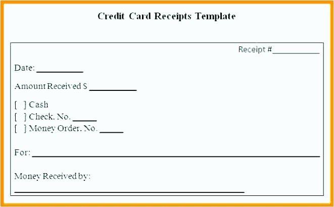 Credit Card Slip Template Fresh 10 Credit Card Slips Template Tipstemplatess
