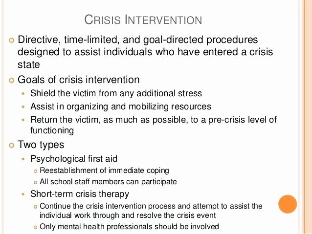 Crisis Intervention Plan Template Awesome Crisis Intervention Plan Template assistant Principal 7
