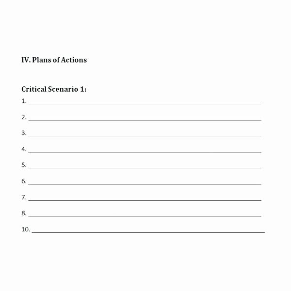Crisis Management Plan Template Awesome Individual Crisis Management Plan Template Munication