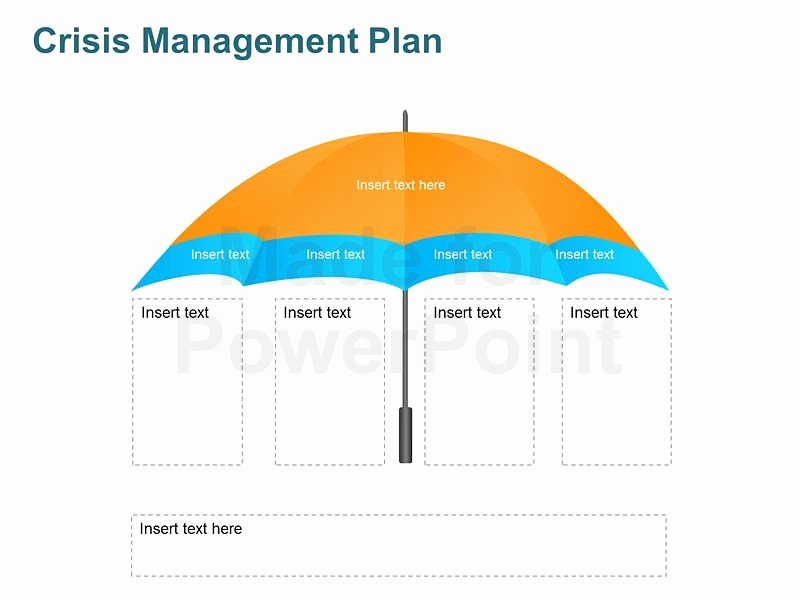 Crisis Management Plan Template Elegant Crisis Management Plan Editable Template for Ppt