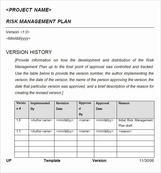 Crisis Management Plan Template Fresh 10 Crisis Management Plan Examples Pdf