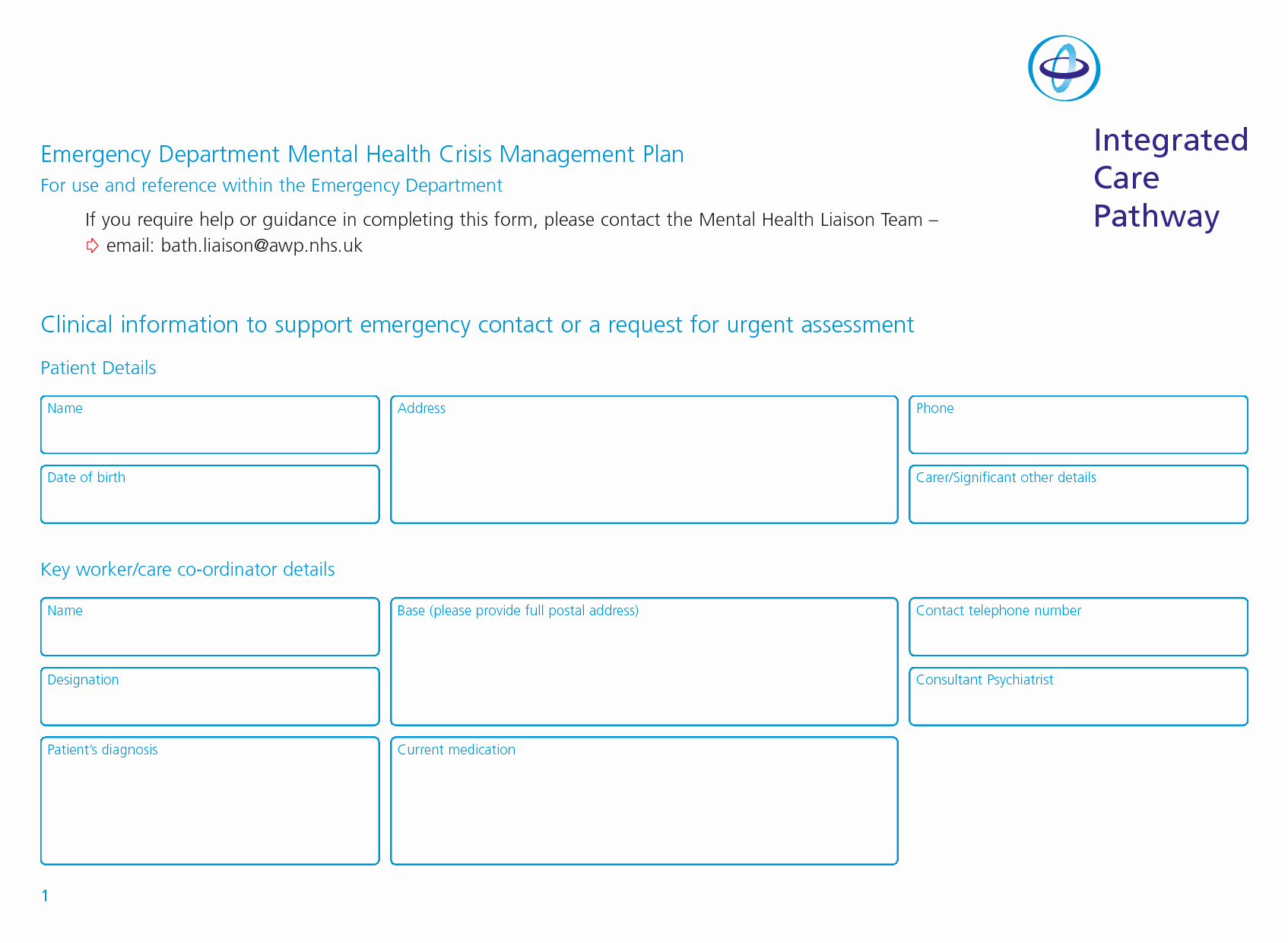 Crisis Management Plan Template Inspirational Best S Of Writing Mental Health Treatment Plans