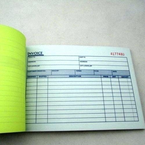 Custom Printed Receipt Books Best Of Printed Receipt Books Invoice Books Custom Receipt Books