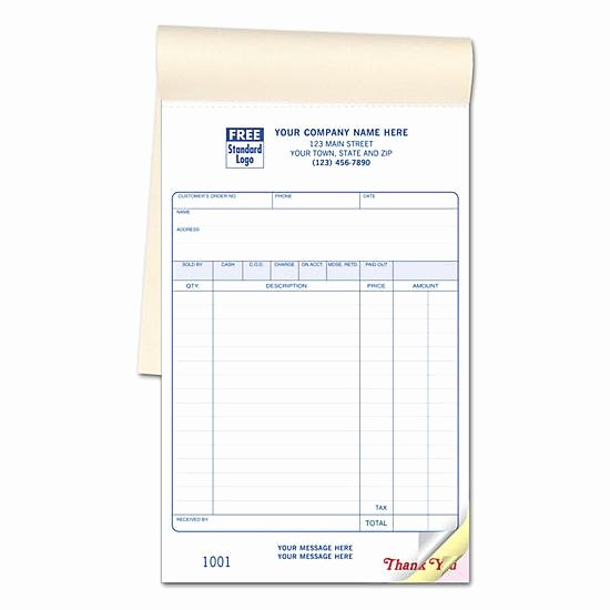 Custom Sales Receipt Book Awesome Retail Sales Book Custom Sales Receipt Books