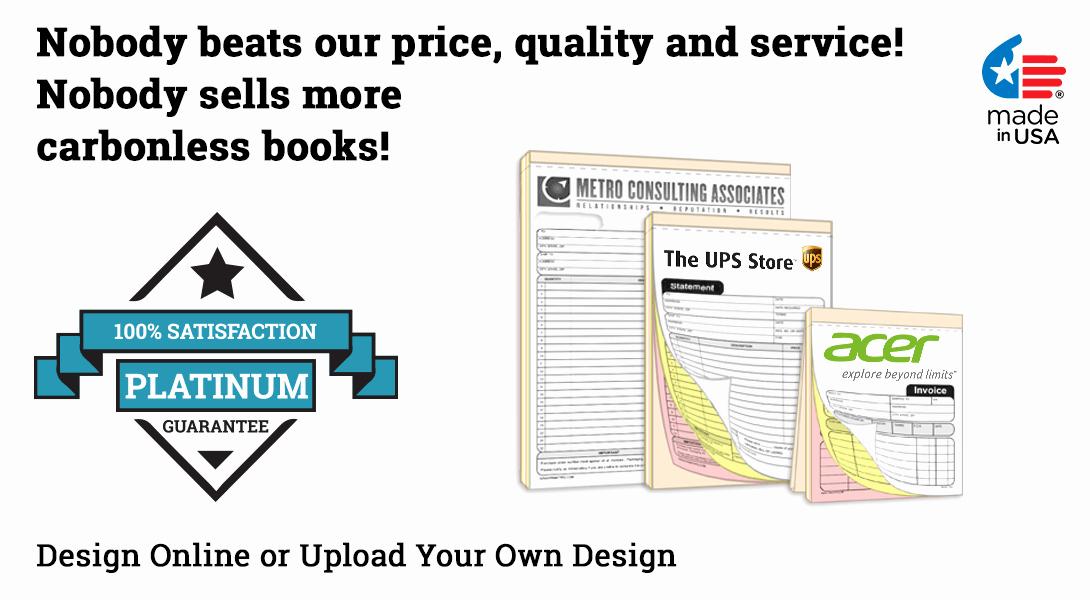 Custom Sales Receipt Book Best Of Custom Sales Receipt Books 5 5 X 8 5 Ncr
