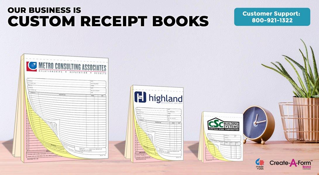 "Custom Sales Receipt Book Best Of Ncr Sales Receipt Books 5 5"" X 8 5"""