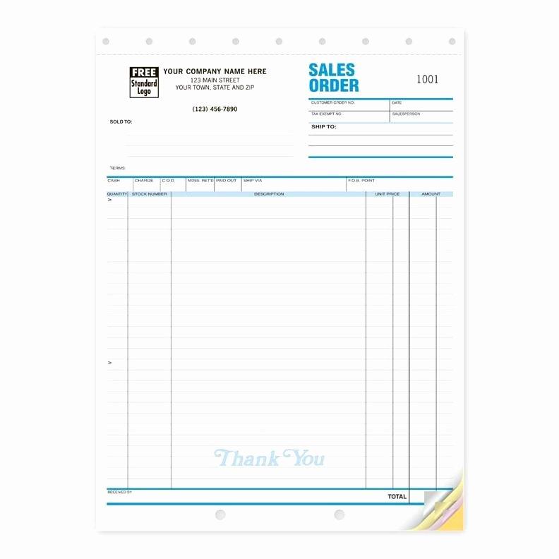 Custom Sales Receipt Book Best Of Sales Receipt Books Custom Invoice