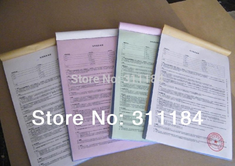Custom Sales Receipt Book Luxury Custom Triplicate Carbonless Invoice Book Manifest Sales