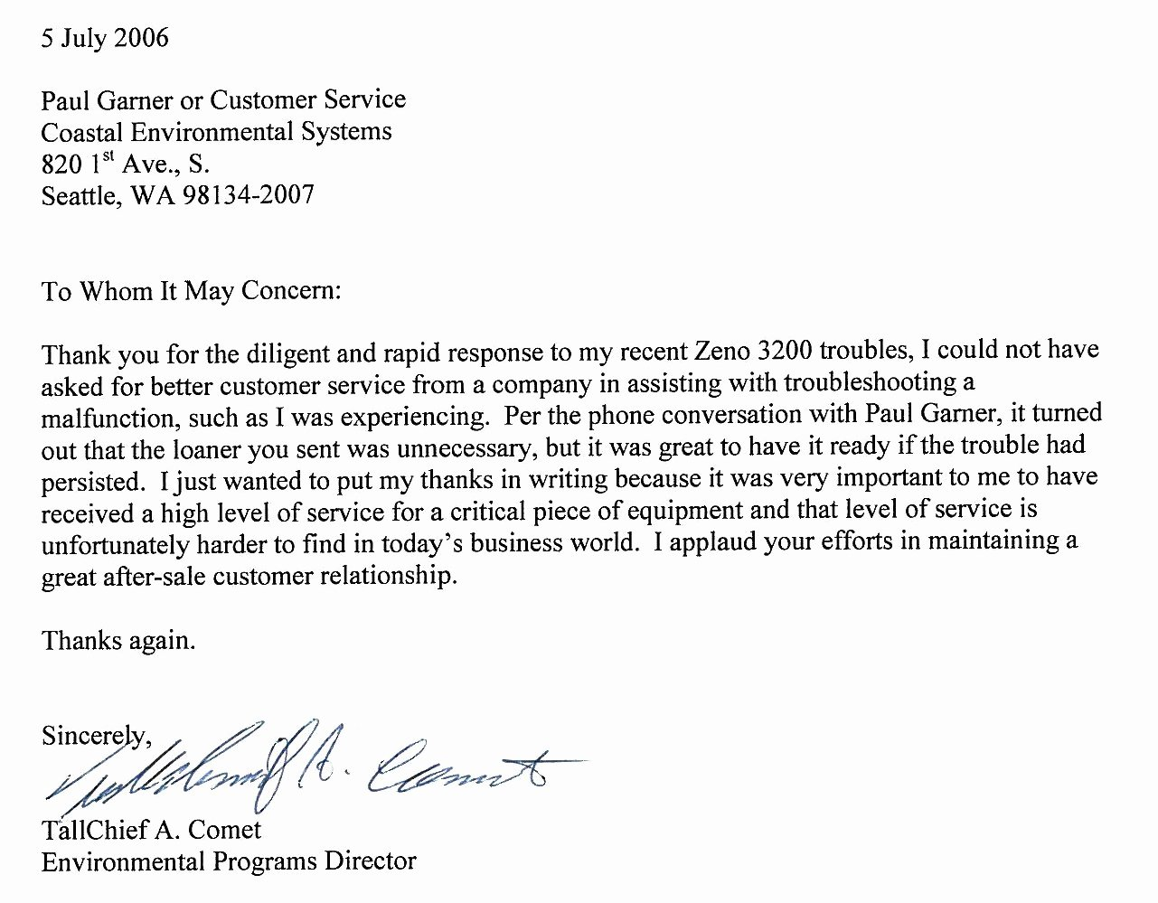 Customer Service Recommendation Letter Awesome Re Mendation Letter Service – Templates Free Printable