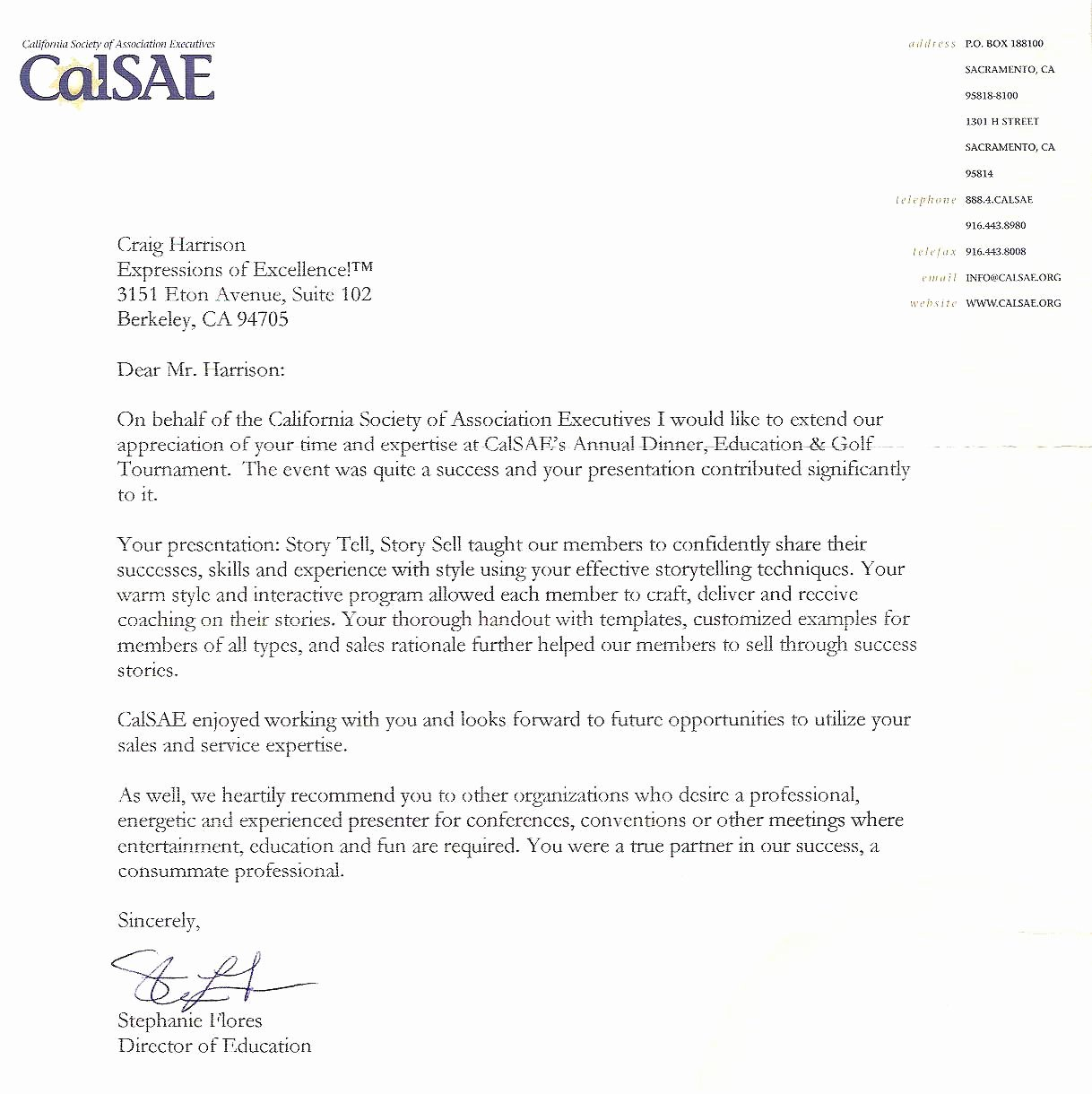 Customer Service Recommendation Letter Elegant Sample Student Council Letters Of Re Mendation for