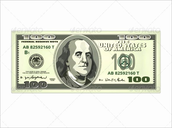 Customizable Fake Money Template Elegant 9 attractive Sample Play Money Templates to Download