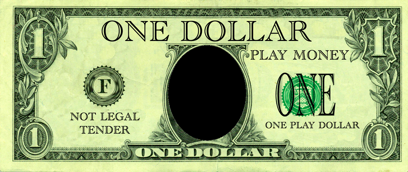 Customizable Fake Money Template Fresh Realistic Play Money Templates