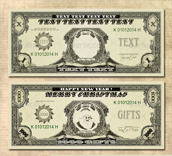 Customizable Fake Money Template Inspirational Customizable Money Template Rusinfobiz