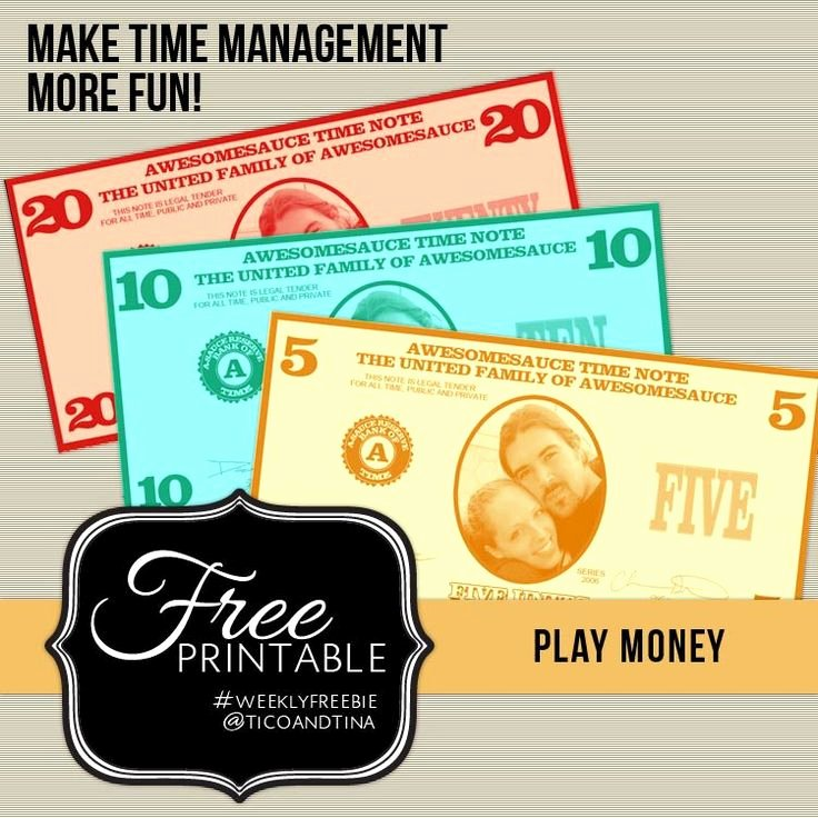 Customizable Fake Money Template New Best 25 Play Money Ideas On Pinterest