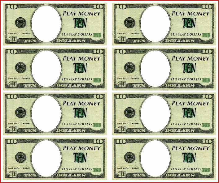 Customizable Fake Money Template New Bible Bucks Printable Template