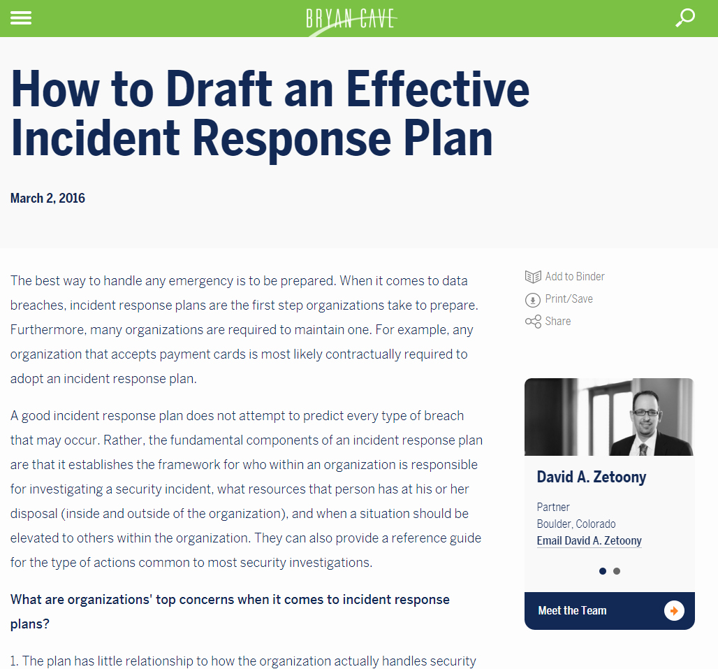 19 images of cyber security incident response template 2897
