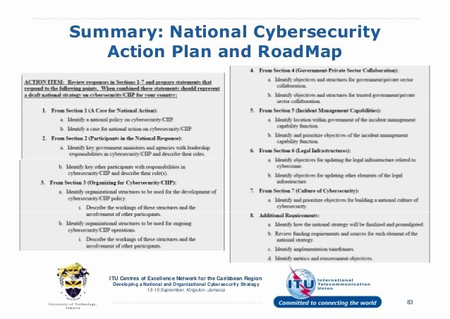 Cyber Security Plan Template Best Of Cyber Security Strategic Plan Template Templates