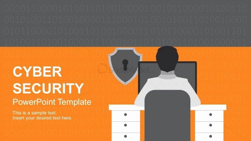 Cyber Security Plan Template Elegant Cyber Security Threats Template Slide Slidemodel