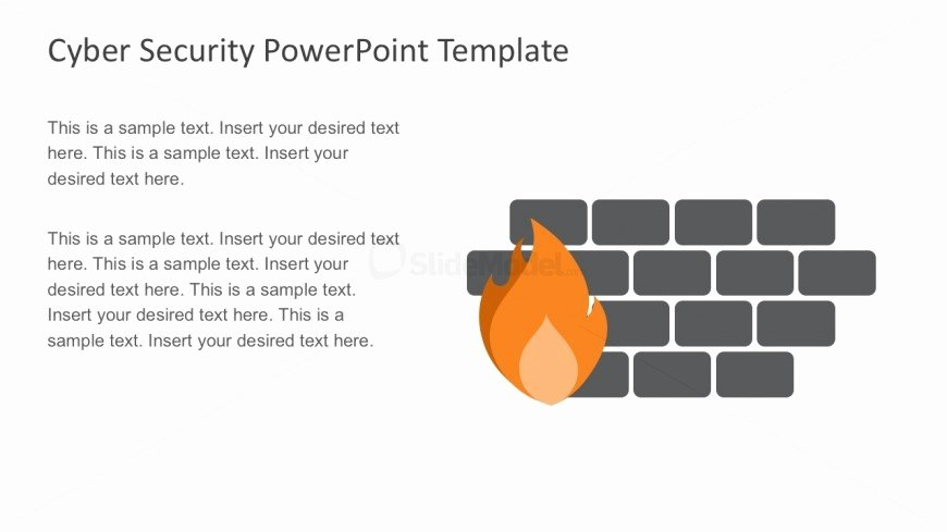 Cyber Security Plan Template Fresh Reconnaissance and Firewall Powerpoint Slides Slidemodel