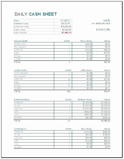 Daily Cash Sheet Template Excel Elegant Daily Balance Sheet Template Luxury Best Sample Excel
