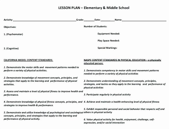 Dance Lesson Plan Template Beautiful Pe Lesson Plans for Elementary School Year 9 Basketball