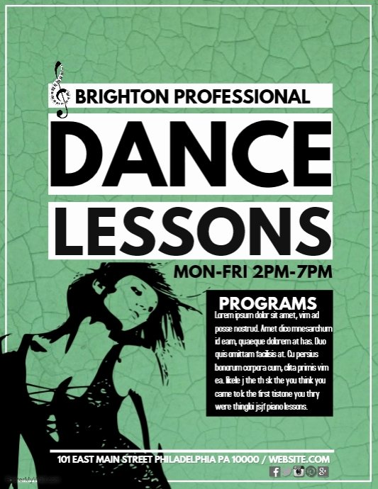 Dance Lesson Plan Template Inspirational Dance Lessons Template