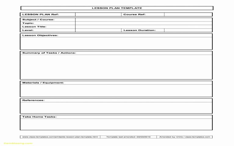 Danielson Lesson Plan Template Awesome Charlotte Danielson Blank Lesson Plan Template