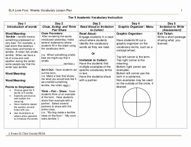 Danielson Lesson Plan Template Awesome Danielson Lesson Plan Template