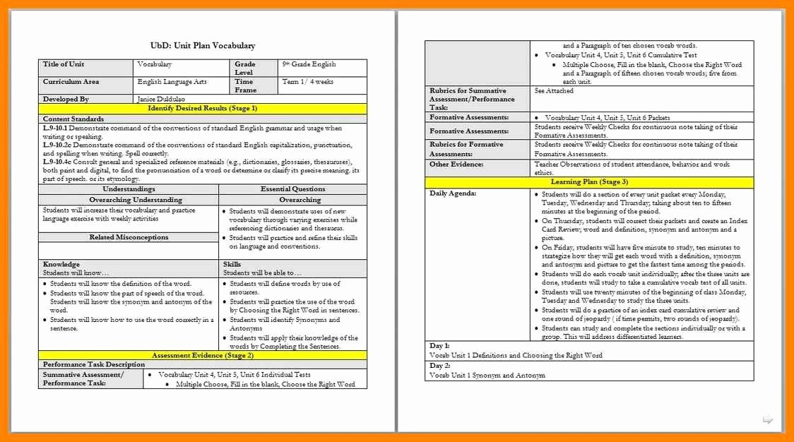 Danielson Lesson Plan Template Fresh Charlotte Danielson Blank Lesson Plan Template – Lesson