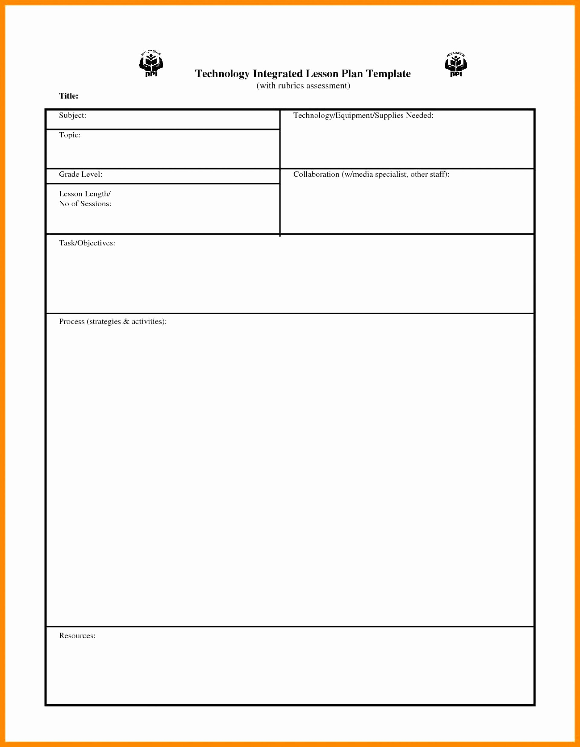 Danielson Lesson Plan Template Luxury Wonderful Danielson Lesson Plan Template Tinypetition