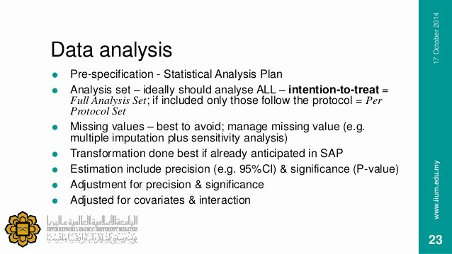 Data Analysis Plan Template Inspirational Data Management & Statistics In Clinical Trials