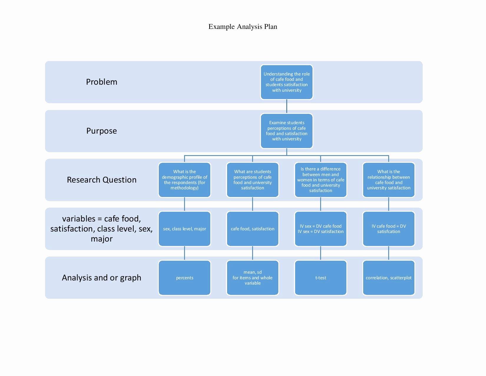 Data Analysis Plan Template Unique Developing A Data Analysis Plan