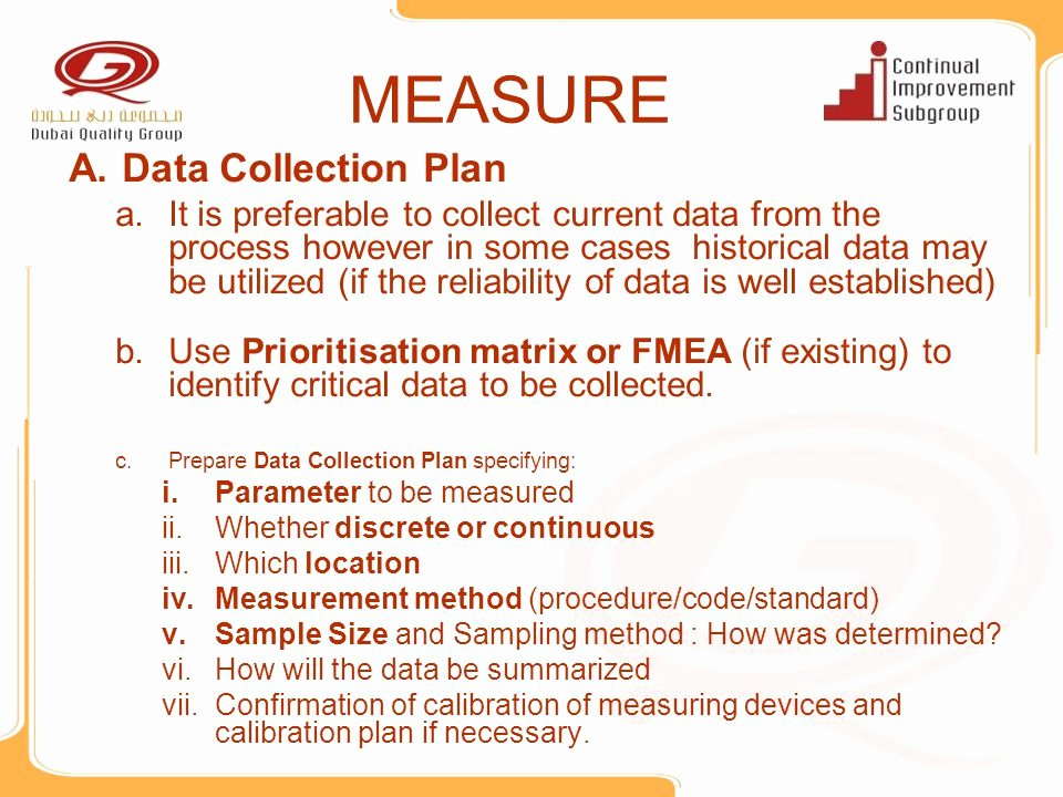 Data Collection Plan Template Luxury Lean Six Sigma Project Presentation Template Ppt Video