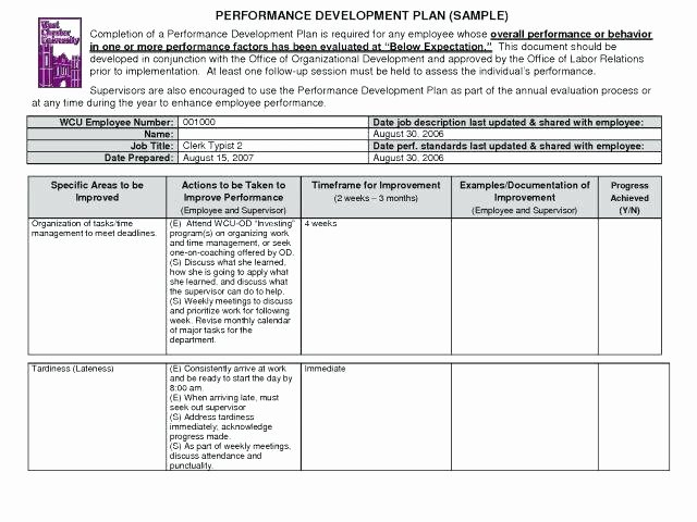 Data Management Plan Template Inspirational Employee Development Plan Template Free – Angliangfo