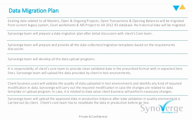 Data Migration Plan Template Awesome Ax 2012 R3 Legacy Data Migration