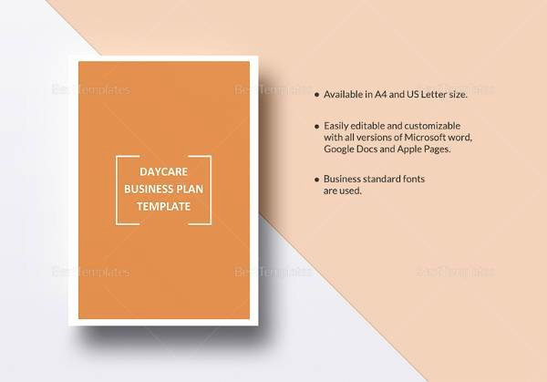 Daycare Business Plan Template New Sample Small Business Plan 18 Documents In Pdf Word