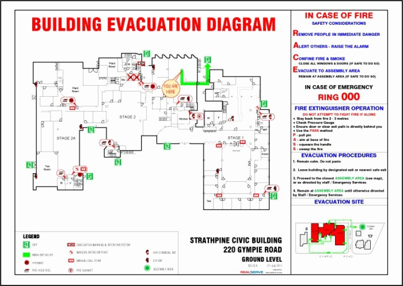 Daycare Emergency Preparedness Plan Template Awesome Realserve Evacuation Diagrams Realserve