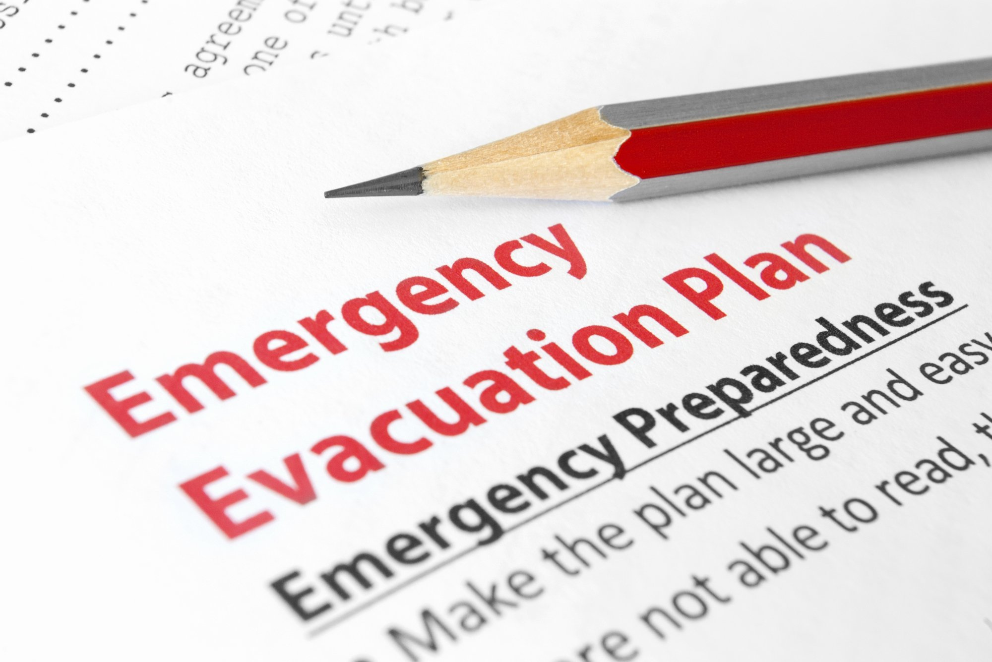 Daycare Emergency Preparedness Plan Template Inspirational Evacuation Planning – 101 Ways to Survive