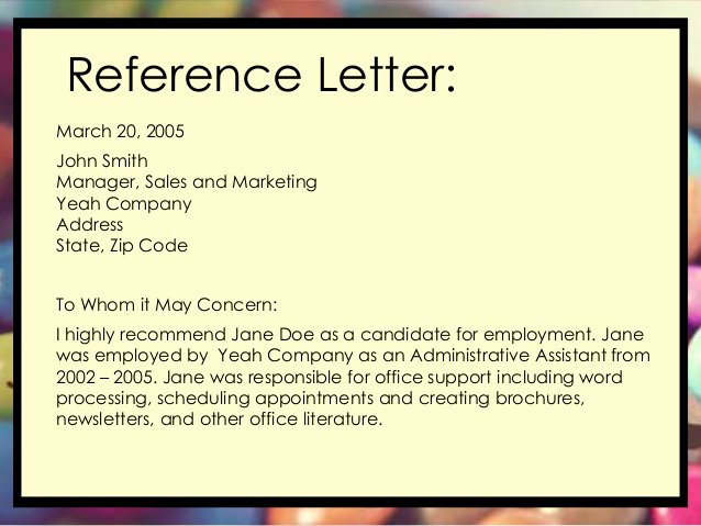 Define Letter Of Recommendation Beautiful Letter Of Employment Definition