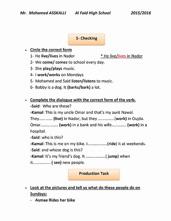 Demo Lesson Plan Template Luxury A Demo Lesson Plan for A Municative Grammar Session