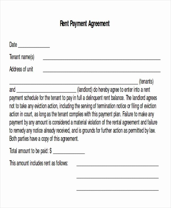 Dental Financial Agreement Template Best Of Sample Payment Plan Agreement 10 Examples In Word Pdf