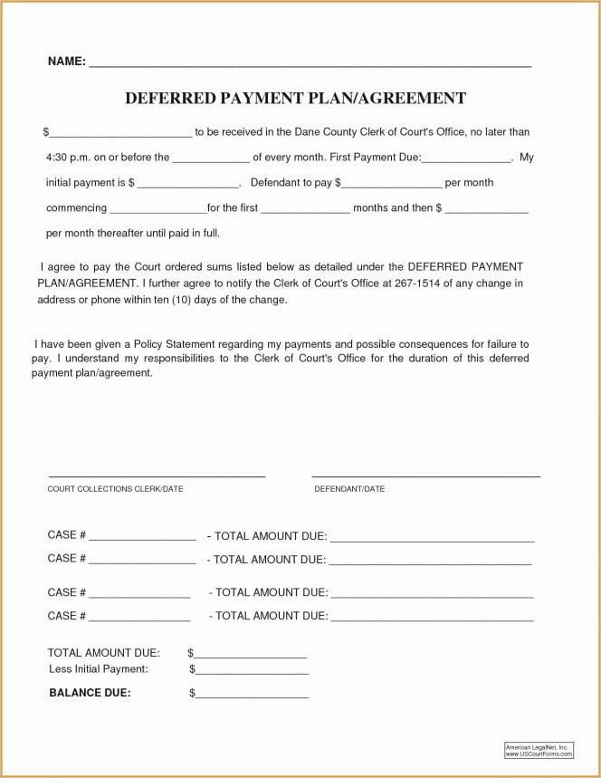 Dental Financial Agreement Template Elegant Dental Payment Plan Agreement Template