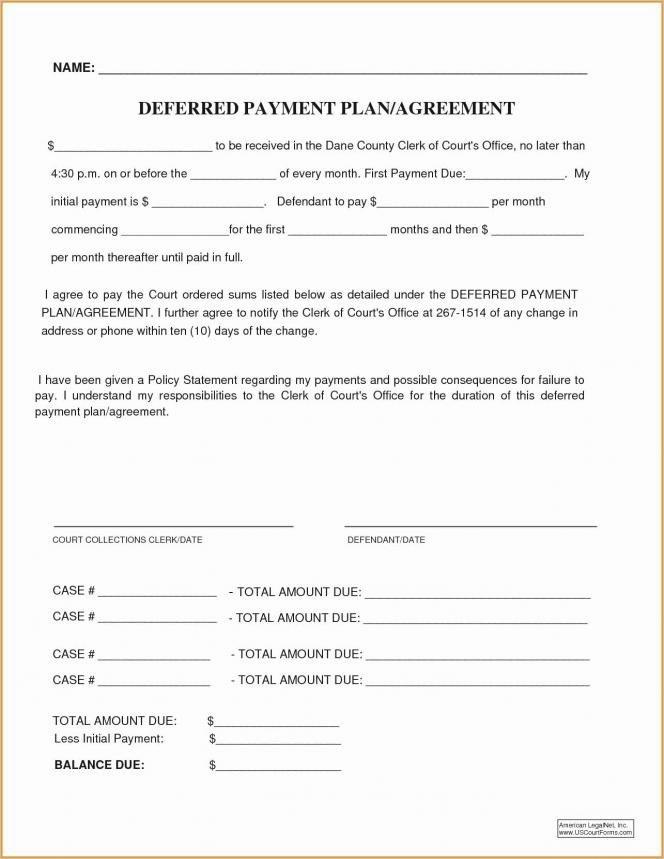 Dental Financial Agreement Template Elegant Dental Payment Plan Agreement Template