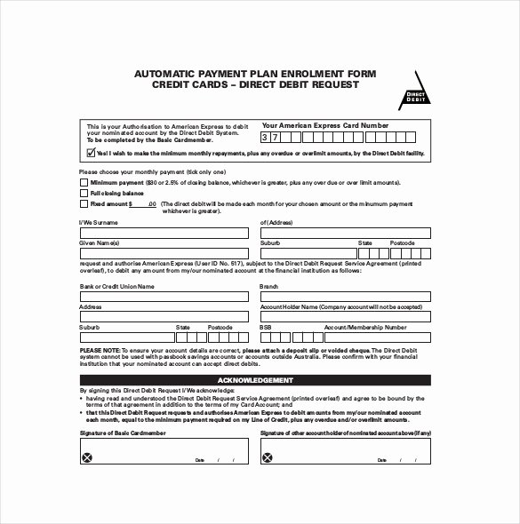 Dental Financial Agreement Template Elegant Payment Plan Agreement Template 12 Free Word Pdf