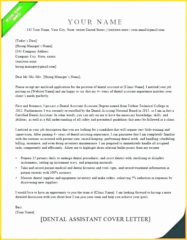 Dental Letter Of Recommendation Best Of Dental Letters Re Mendation