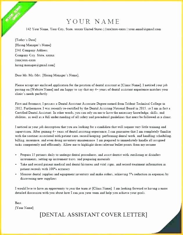 Dental Letter Of Recommendation Best Of Dental Letters Re Mendation
