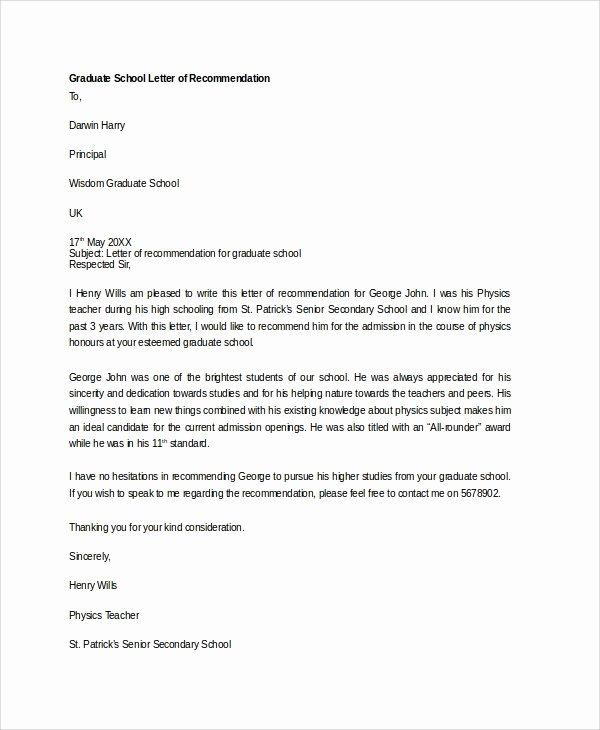 Dental Letter Of Recommendation Inspirational Sample Letter Of Re Mendation 20 Free Documents