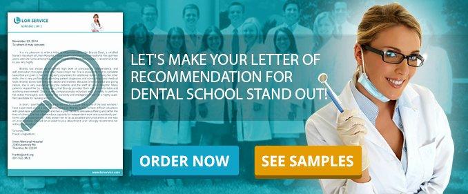 Dental School Recommendation Letter Elegant Dental School Letter Of Re Mendation Sample