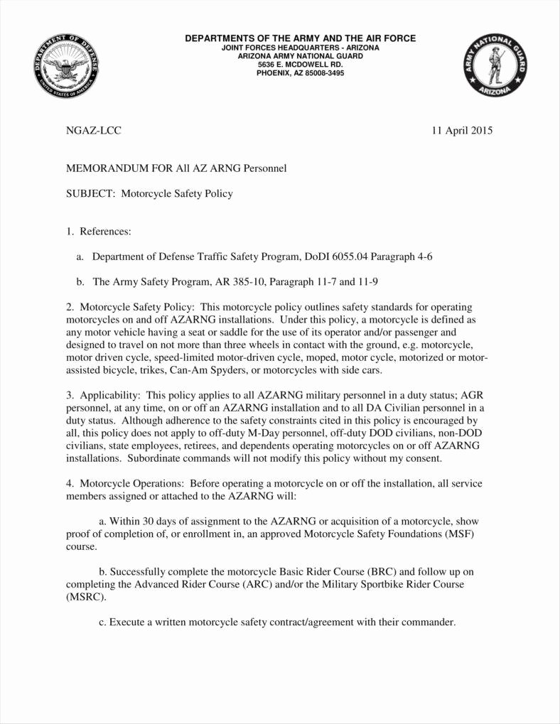 Department Of the Navy Letterhead Template Fresh 9 Army Letterhead Templates