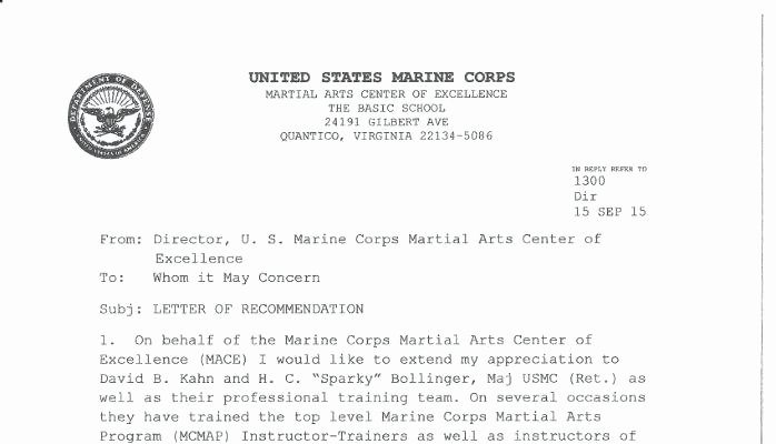Department Of the Navy Letterhead Template Inspirational Letter Marine Corps Letterhead Template Resume Word Free